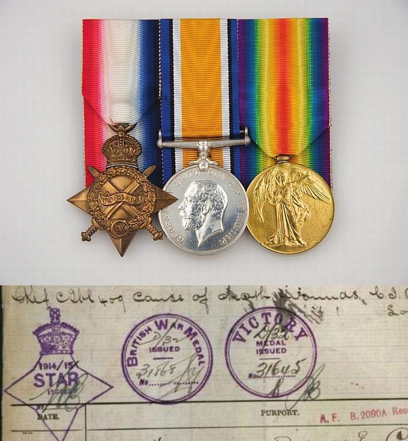 A H Blencowe medals