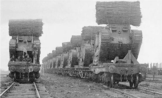 Facines Tanks Cambrai Photo 1