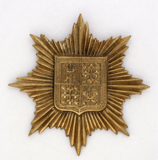 13th Bn cap badge large