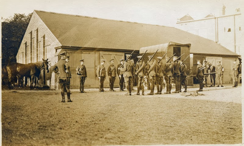4th South Midland Brigade Rifle Drill C 1914 From Evelyn C. Wilcock photo's Picasweb