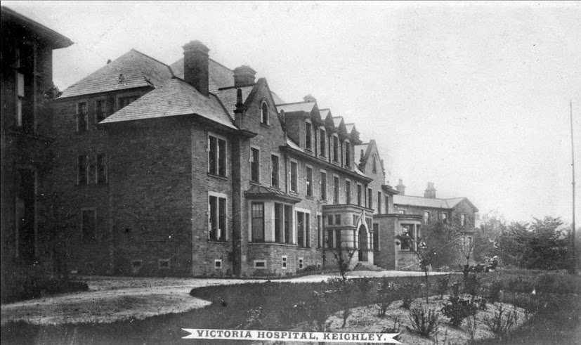 Transferred to Victoria Hosp. Keighley, hospitalised for 99 days.