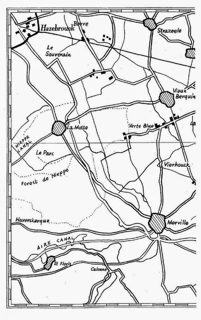 Hazebrouck map