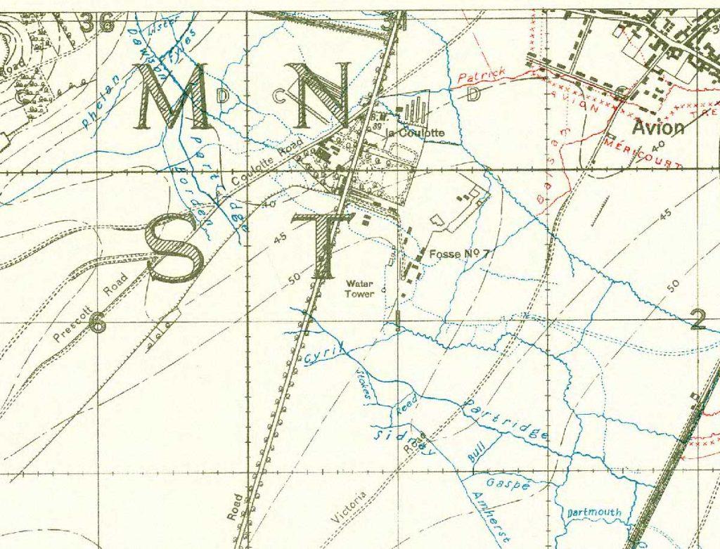 La Coulotte map