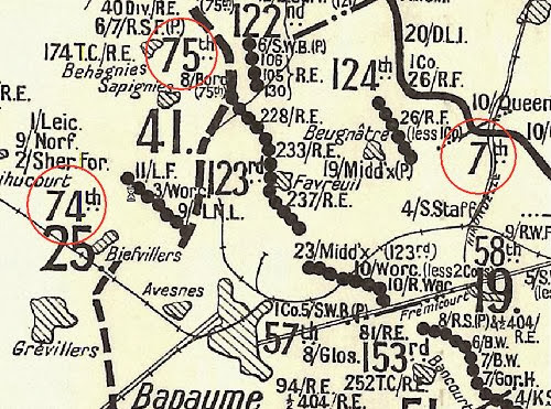 25Div_26Mar18 The First Battle of Bapaume