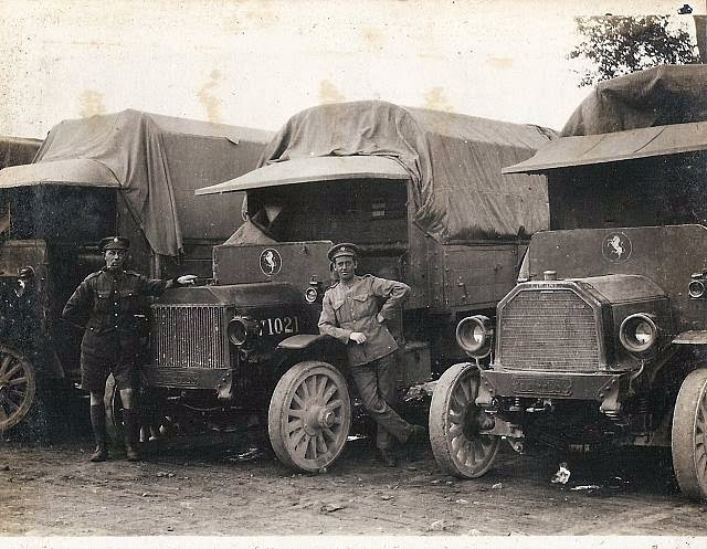 ASC driver and Peerless Lorry