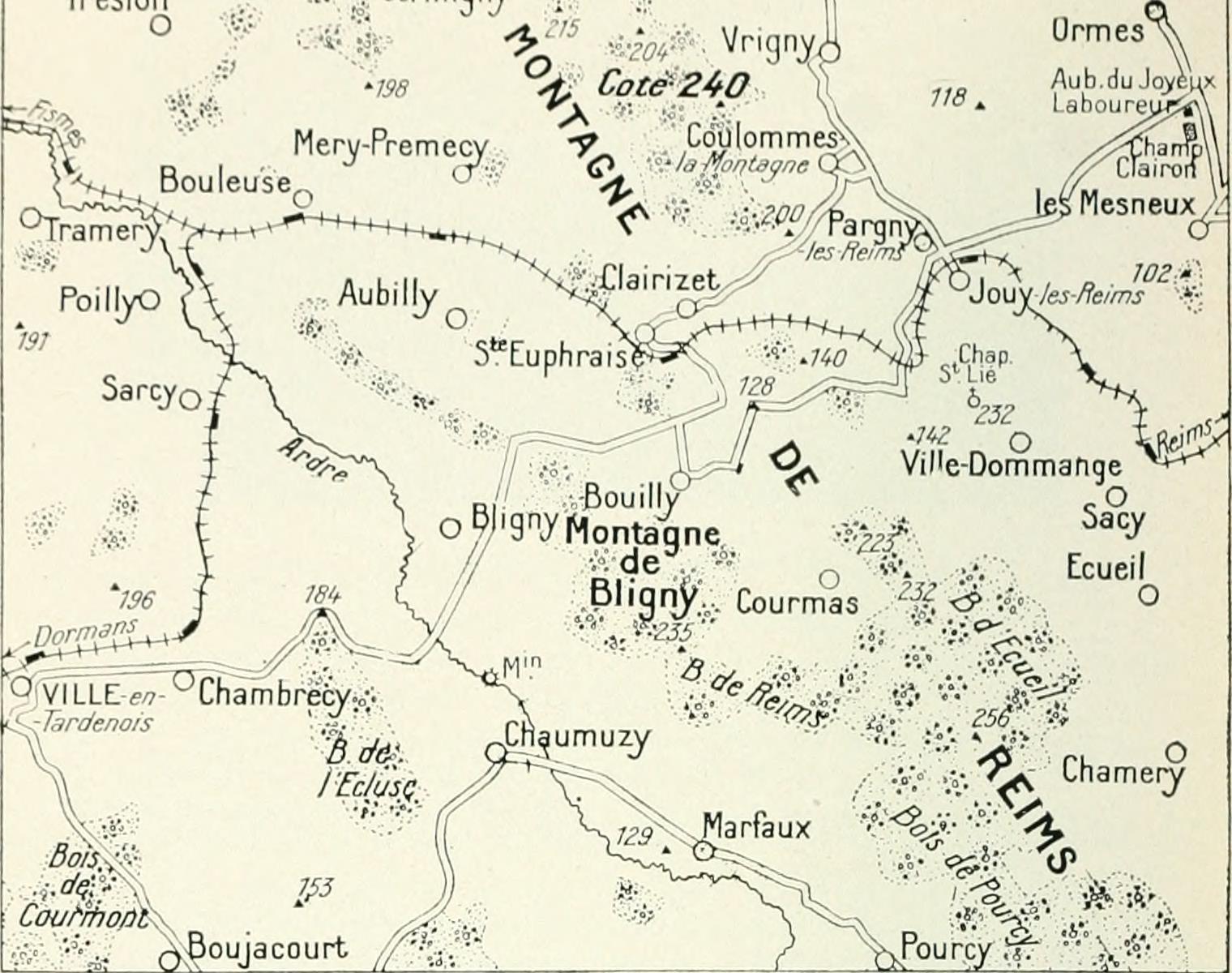 Bligny Hill Marne
