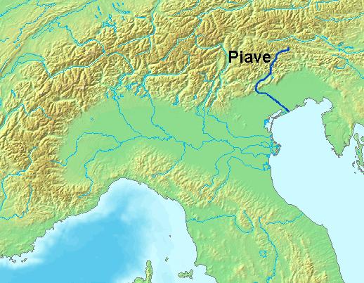 LocationPiaveRiver