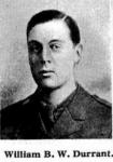 2nd Lt William Blencowe Wells Durrant 1886-1915