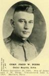 Corporal Fred William Niesz 1895 spouse of Nina Blencowe